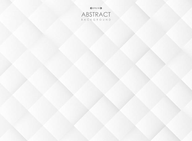 Fundo geométrico cinzento do teste padrão do inclinação abstrato. Vetor Premium