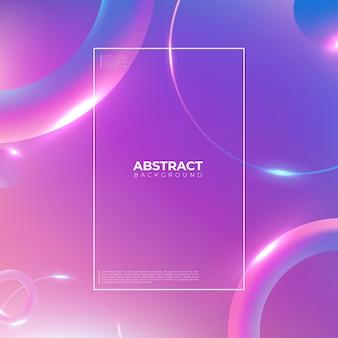 Fundo geométrico colorido. composição de formas gradientes na moda. design de fundo legal para cartazes. ilustração vetorial