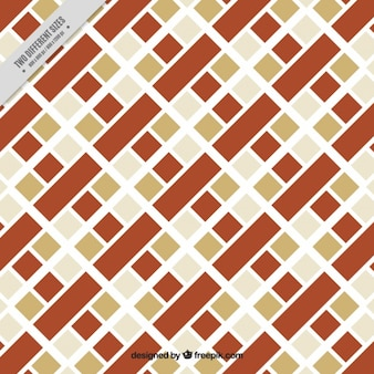 Fundo geométrico com quadrados de cores diferentes