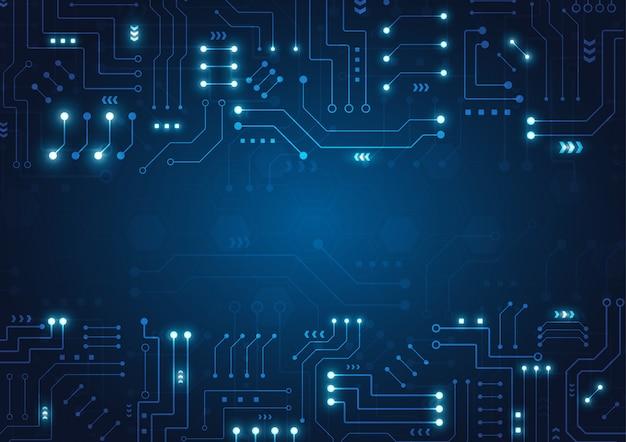 Fundo geométrico de alta tecnologia
