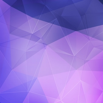 Fundo geométrico de cristal roxo