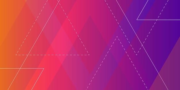 Fundo geométrico de forma abstrata