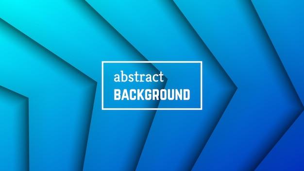 Fundo geométrico de linha mínima abstrata. forma de camada de linha azul para banner, modelos, cartões. ilustração vetorial.