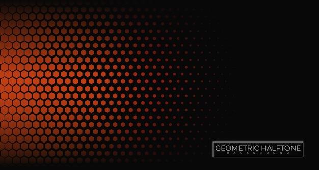 Fundo geométrico de meio-tom