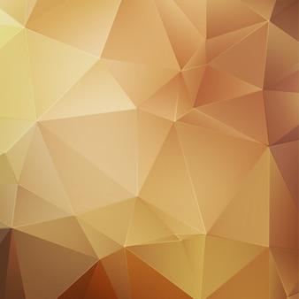 Fundo geométrico de ouro