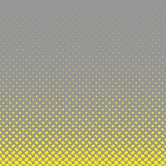 Fundo geométrico de padrão de elipse de meio-tom - gráfico vetorial a partir de pontos diagonais elípticos