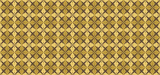 Fundo geométrico de padrão dourado