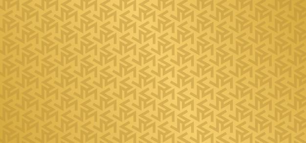 Fundo geométrico de padrão europeu dourado