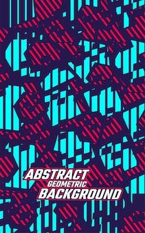 Fundo geométrico de textura abstrata