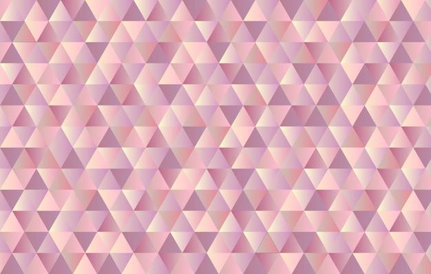 Fundo geométrico de triângulo