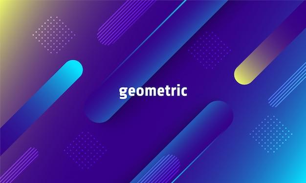 Fundo geométrico dinâmico