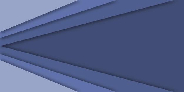Fundo geométrico do estilo abstrato do papercut.