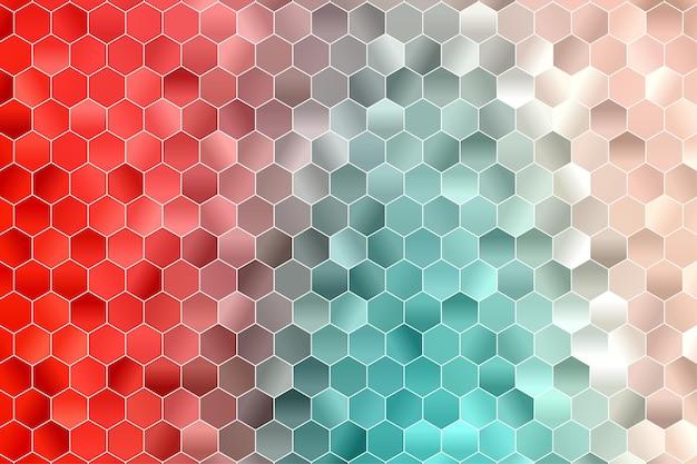 Fundo geométrico do hexágono. papel de parede do polígono. hexágono padrão sem emenda.