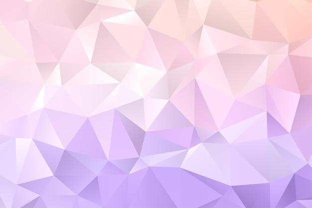Fundo geométrico do polígono. papel de parede de diamante. padrão elegante em cores suaves