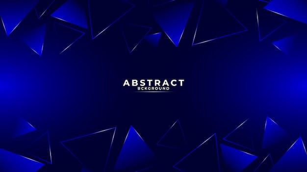 Fundo geométrico gradiente abstrato moderno