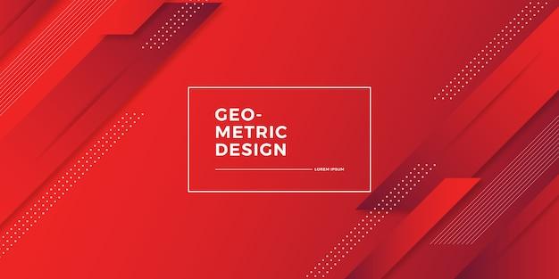Fundo geométrico gradiente abstrato