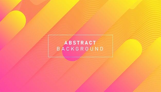 Fundo geométrico gradiente colorido