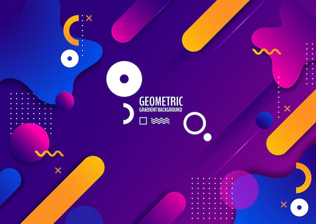 Fundo geométrico, gradiente mínimo