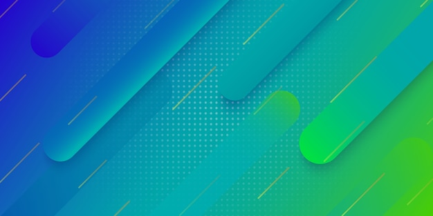 Fundo geométrico gradiente moderno para design de capa de cartaz