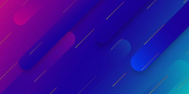 Fundo geométrico gradiente moderno