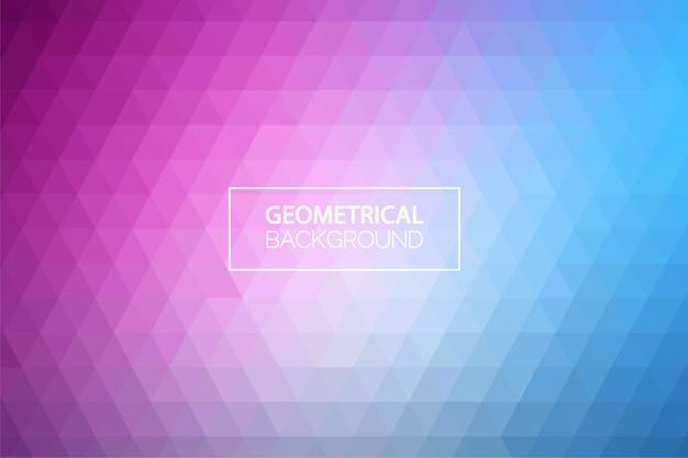 Fundo geométrico gradiente pastel moderno