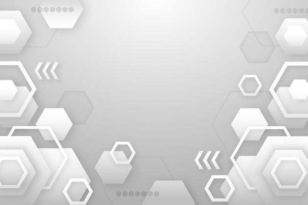 Fundo geométrico gradiente plano
