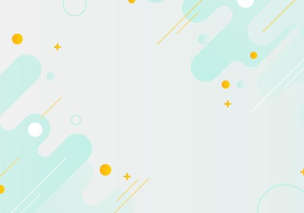 Fundo geométrico gradiente simples abstrato. ilustração vetorial.