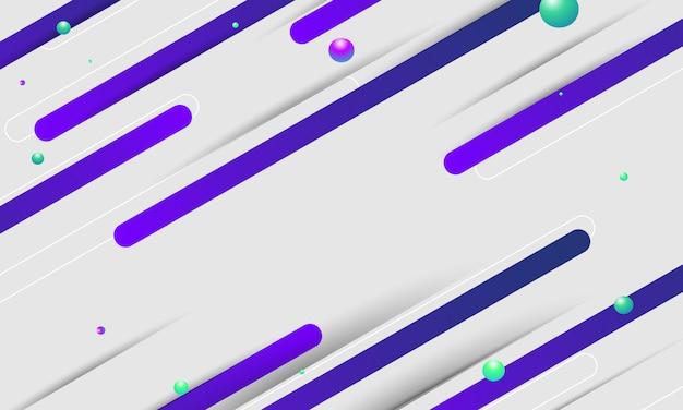 Fundo geométrico gradientes abstratos.
