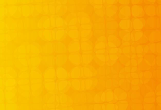 Fundo geométrico laranja abstrato