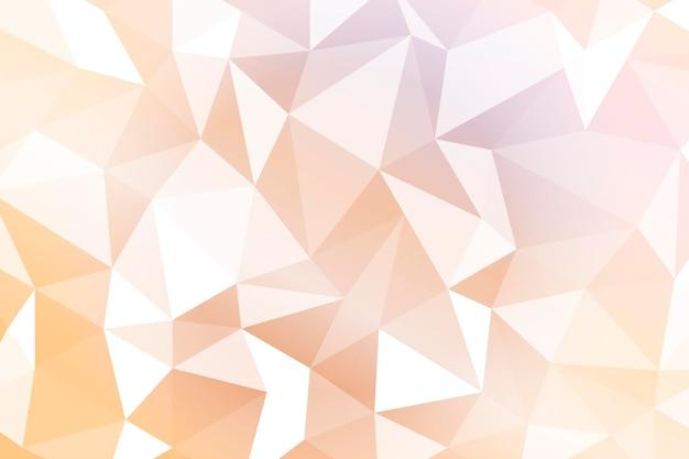 Fundo geométrico laranja claro