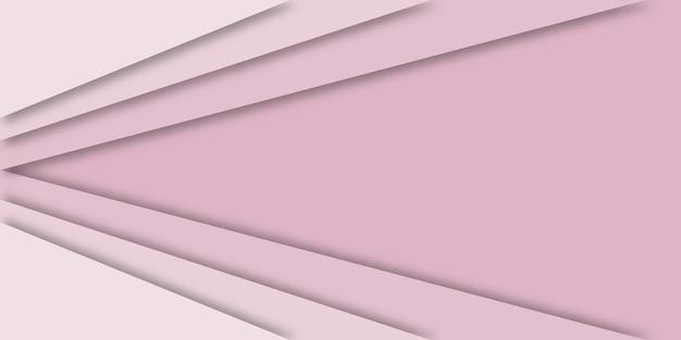 Fundo geométrico moderno abstrato em design de corte de papel.