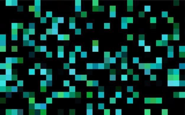 Fundo geométrico moderno de vetor azul