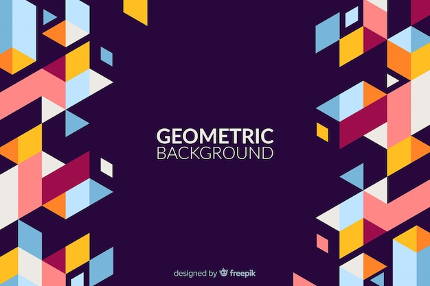 Fundo geométrico original