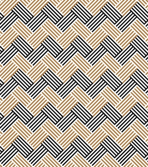Fundo geométrico ornamento listrado de padrão egípcio sem emenda.