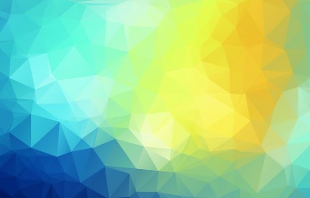 Fundo geométrico poligonal colorido de beleza