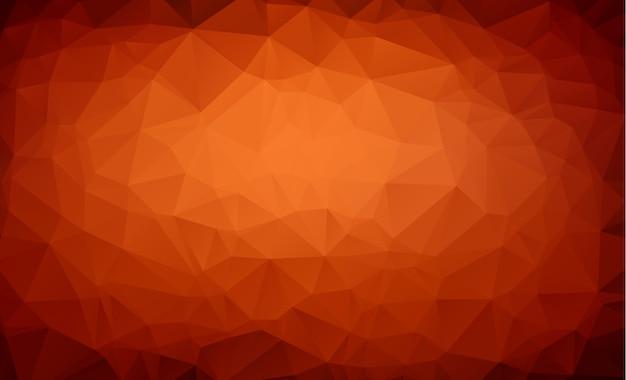 Fundo geométrico poligonal moderno abstrato do triângulo do polígono.