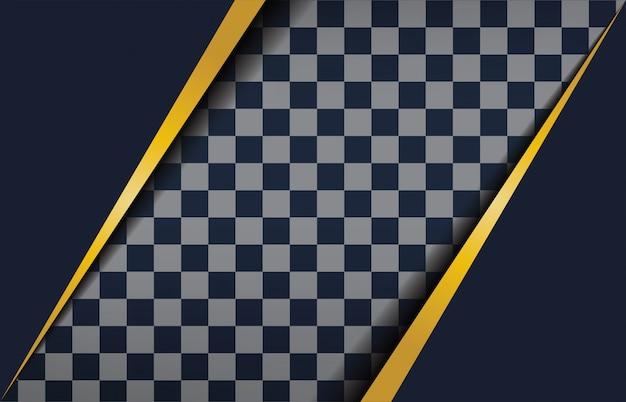 Fundo geométrico preto abstrato design moderno