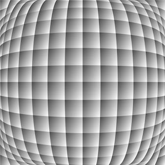 Fundo geométrico preto e branco