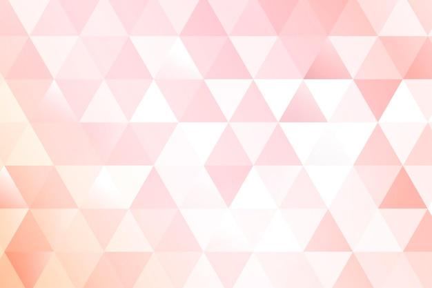 Fundo geométrico rosa