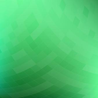 Fundo geométrico verde abstrato