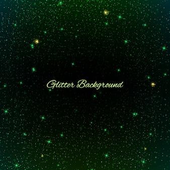 Fundo glitter verde. fundo brilho do natal