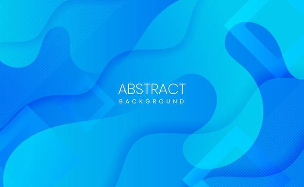 Fundo gradiente abstrato azul moderno