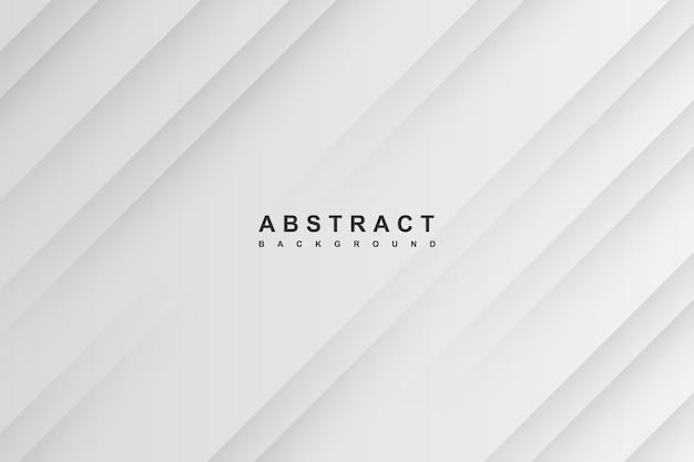 Fundo gradiente abstrato branco e cinza Vetor Premium