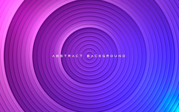 Fundo gradiente abstrato de forma de círculo