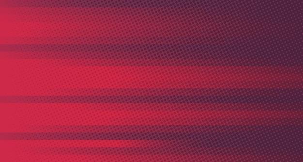 Fundo gradiente abstrato de linhas vermelhas e roxas