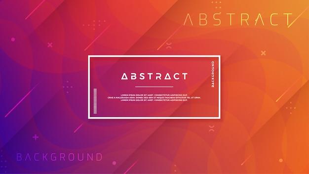 Fundo gradiente abstrato, moderno, dinâmico e moderno