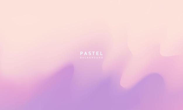 Fundo gradiente abstrato pastel roxo