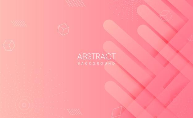 Fundo gradiente abstrato rosa claro moderno