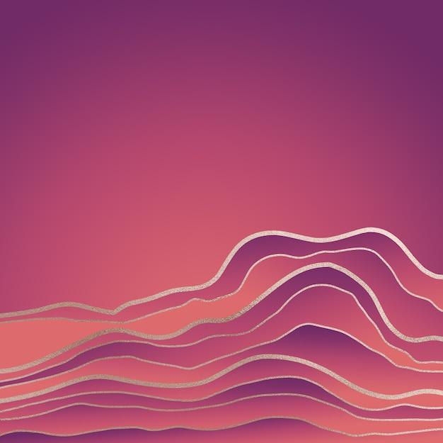 Fundo gradiente abstrato