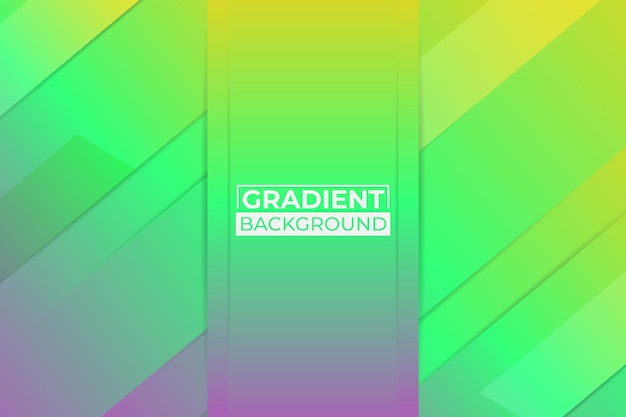 Fundo gradiente amarelo, verde e roxo